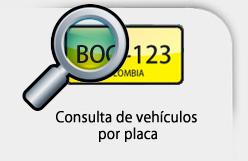 Consulta de vehiculo solo por placa